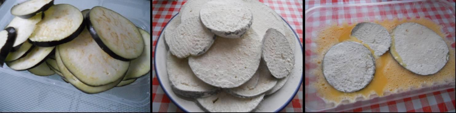 ricetta passo passo parmigiana di melanzane 1