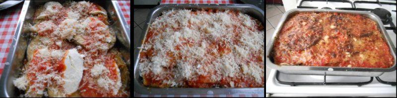 ricetta passo passo parmigiana di melanzane 5