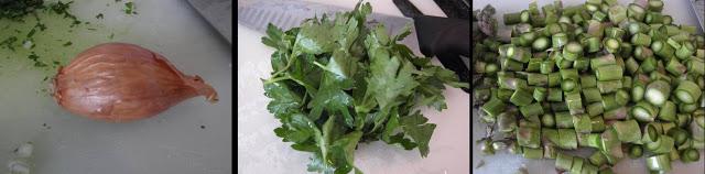 ricetta passo passo di penne rigate con gli asparagi 1