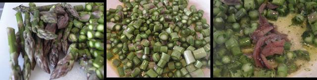 ricetta passo passo di penne rigate con gli asparagi 2