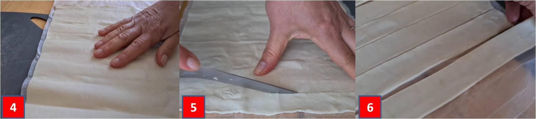 ricetta cannoncini ripieni di formaggio passo passo