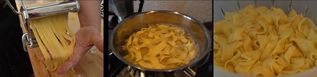 ricetta passo passo pappardelle fatte in casa 4