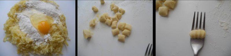 ricetta passo passo gnocchi di patate fatte in casa 2