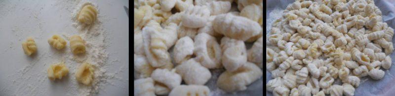 ricetta passo passo gnocchi di patate fatte in casa 3
