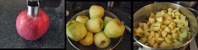 ricetta passo passo mele, limone & zenzero 1