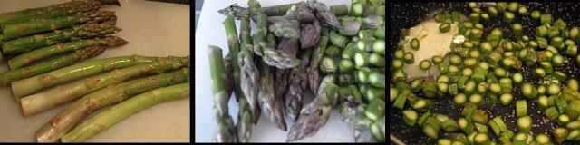 ricetta passo passo muffin con asparagi e ricotta 1