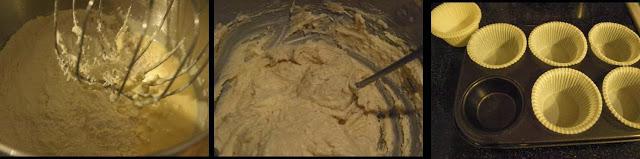ricetta passo passo muffin con asparagi e ricotta 4