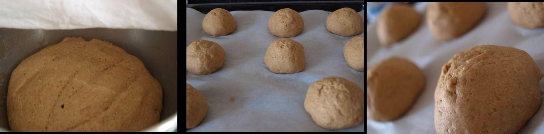 ricetta passo passo pane integrale di farro 3