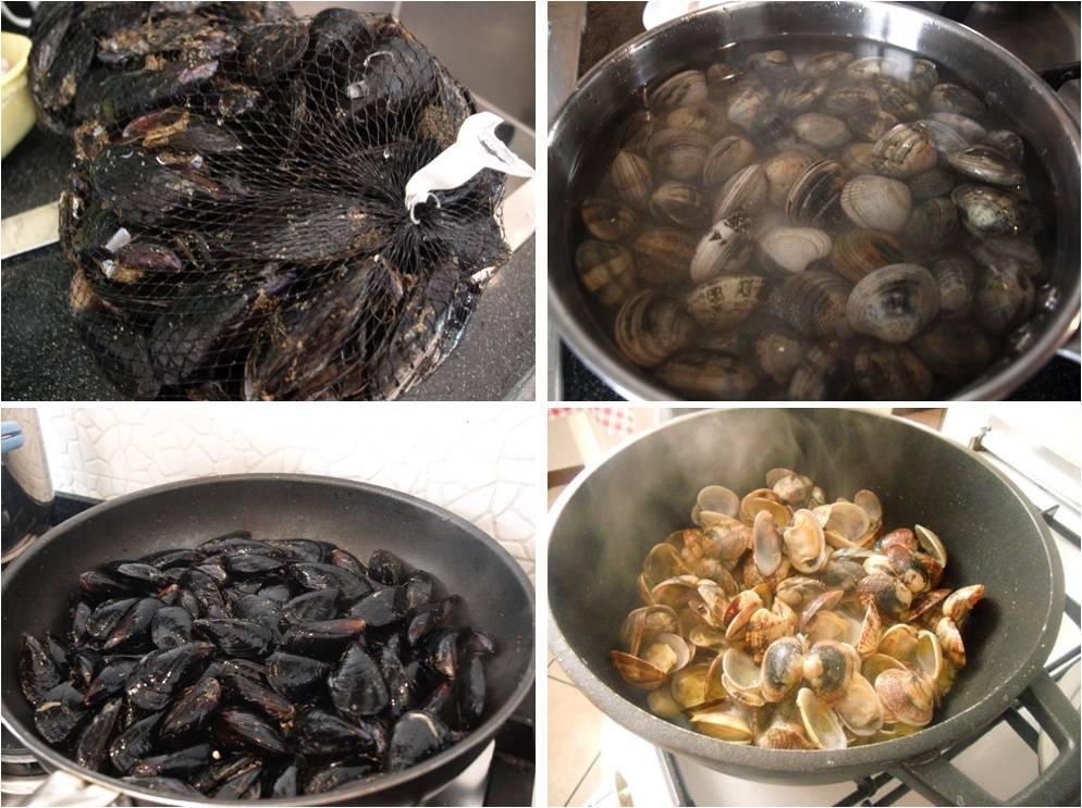ricetta passo passo paella mista 1