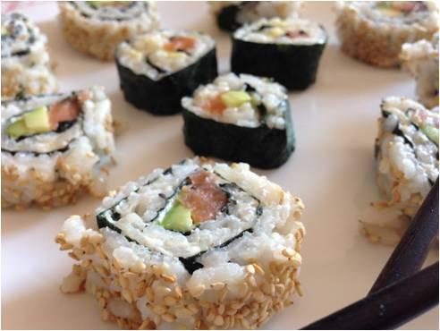 ricetta passo passo sushi 6