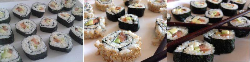 ricetta passo passo sushi 7