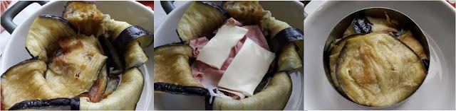 ricetta passo passo tortino di melanzane 4