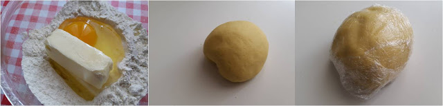 ricetta passo passo torta con castagne mele e panna 1