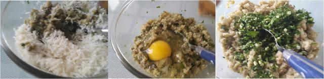 ricetta passo passo polpette di melanzane 3