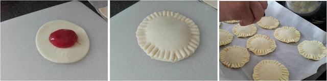 ricetta passo passo pastel de guayaba 2