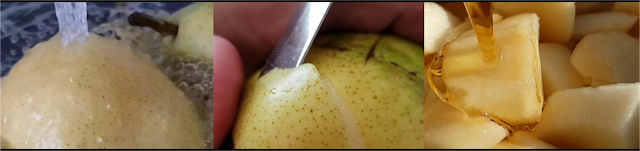 ricetta passo passo confettura con le pere 2