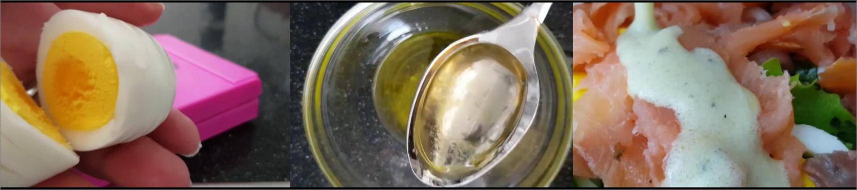 insalata con salmone passo passo 4