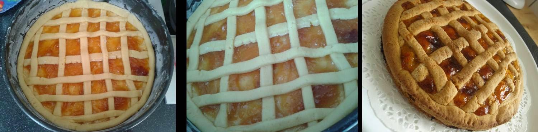 ricetta passo passo crostata di albicocche 5