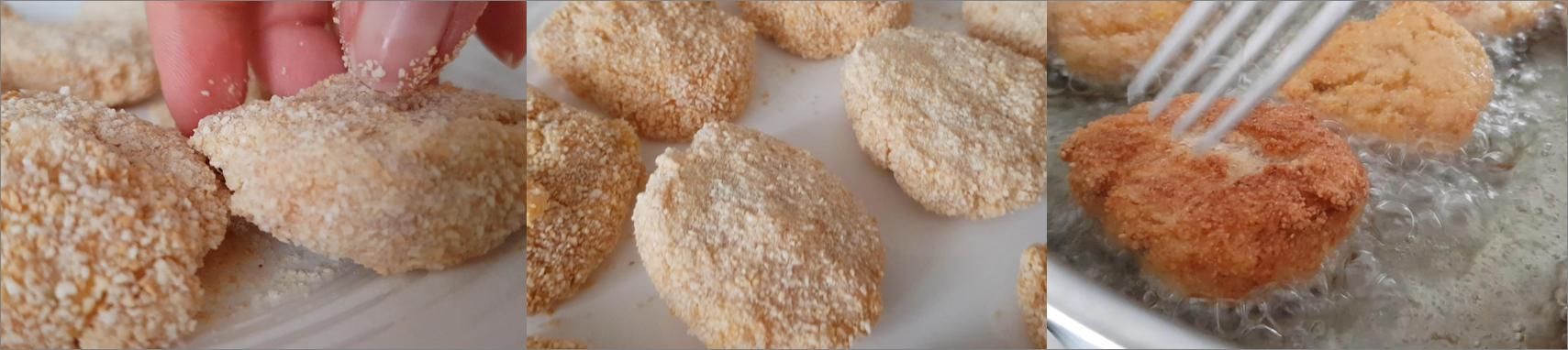 ricetta passo passo nuggets di pollo 3