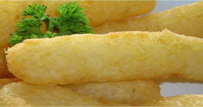 yuca o manioca fritta