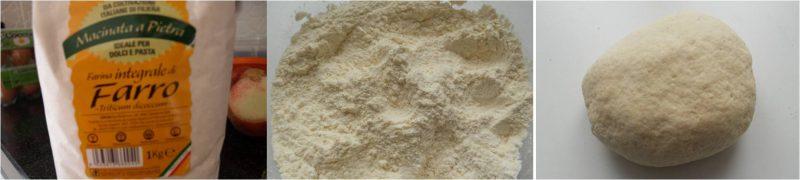 ricetta passo passo pappardelle con farina di farro 1