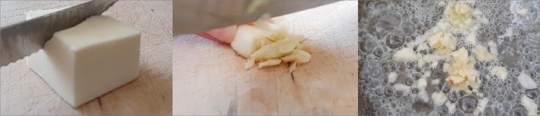ricette passo passo crostini con cavoli e mozzarella 2
