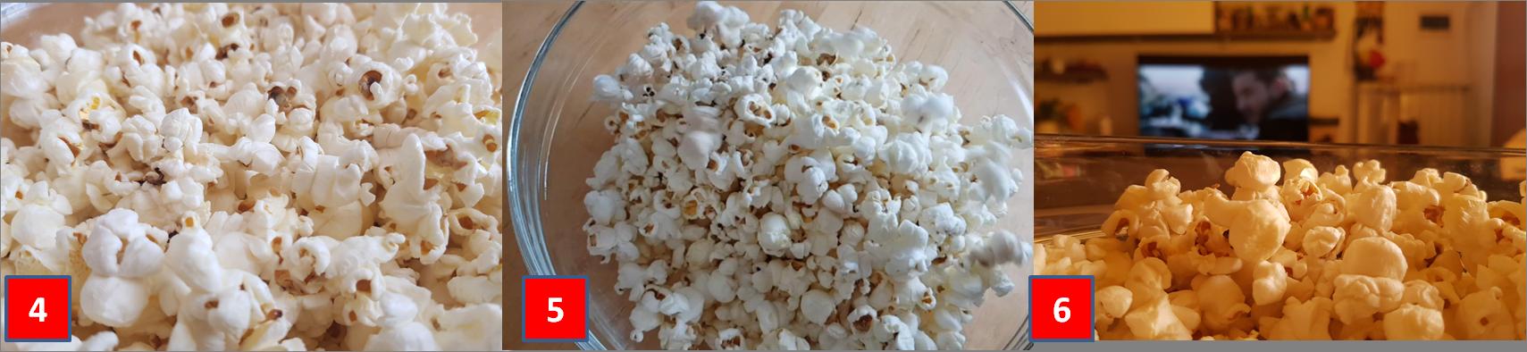 ricetta passo passa popcorn 2