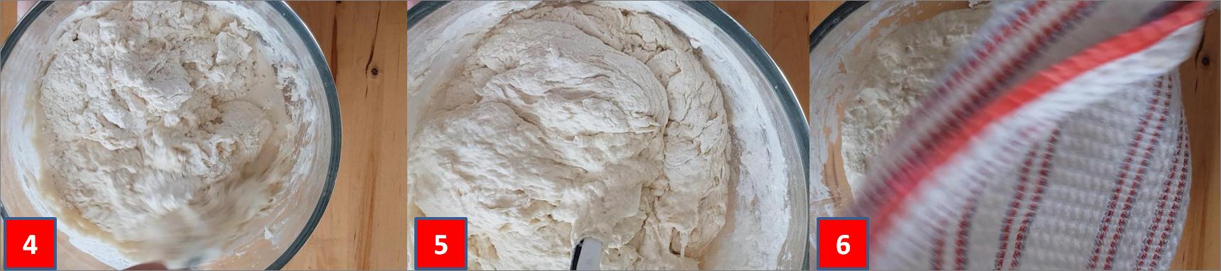 ricetta passo passo pane fatto in casa 2