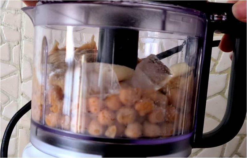 ricetta passo passo humus