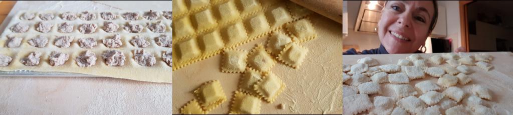 ricetta passo passo ravioli di brasato in salsa di brasato2