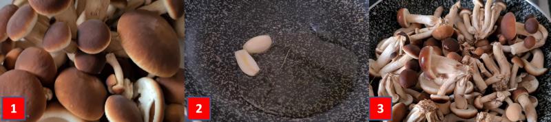 ricetta passo passo risotto con pioppini e zafferano 1